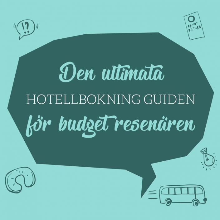 hotell med begränsad budget | Infographical