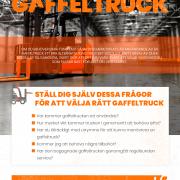 Faktorer att ha I åtanke innan du köper en gaffeltruck