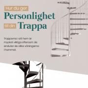 Tips för att ge personlighet till din trappa