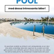 Så kan du modernisera din pool - Infographical