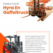 Hyra gaffeltruckar | Infographical