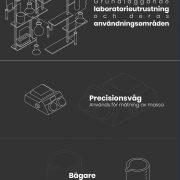 Grundläggande laboratorieutrustning och deras användningsområden | Infographical