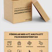 Behöver du anlita ett packningsföretag | Infographical