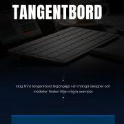 olika typer av tangentbord | Infographical