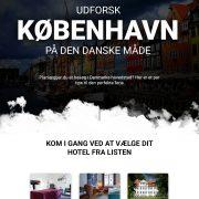 Udforsk prisvenlige hoteller i København | Infographical