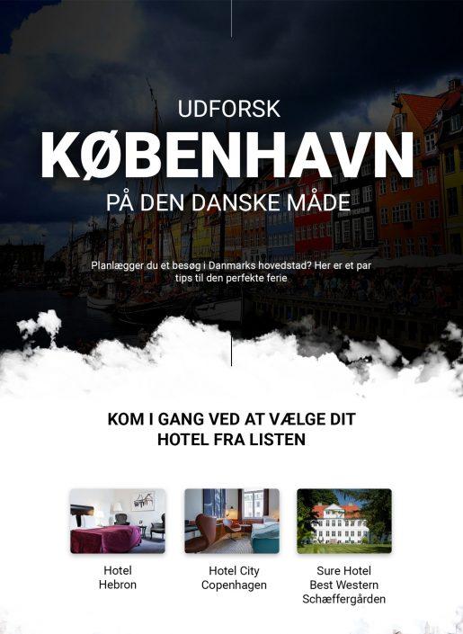 Udforsk prisvenlige hoteller i København   Infographical
