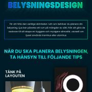 Belysningsdesign | Infographical
