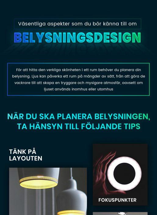 Belysningsdesign   Infographical
