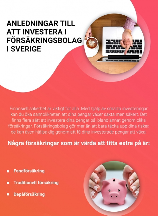 FÖRSÄKRINGSBOLAG SVERIGE | Inforgraphics