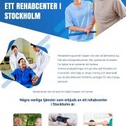 Rehabcenter Stockholm | Infographics