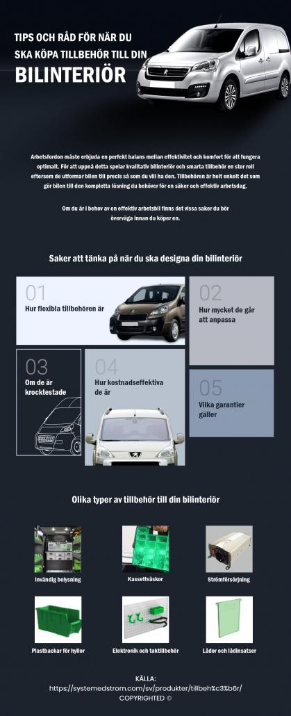 Bilinteriör och tillbehör | System Edström